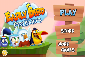 Early Bird And Friends title screen