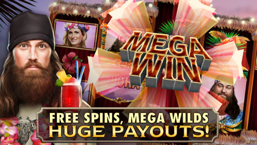 Duck Dynasty slots free spins mega wilds huge payouts