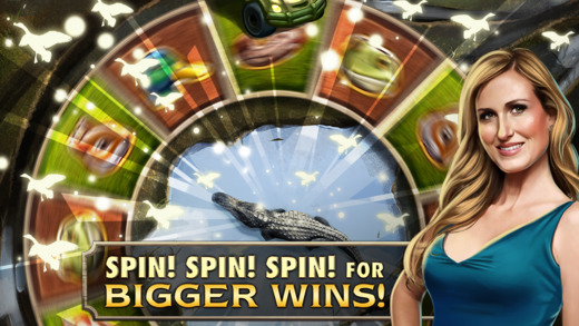 Duck Dynasty slots spin spin spin for bigger wins