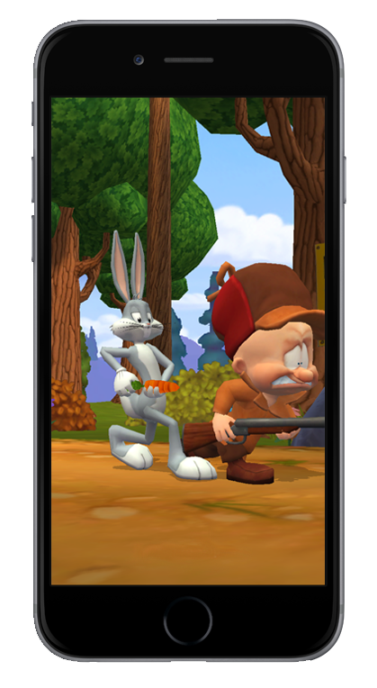 Looney Tunes with Bugs Bunny and Elmer Fudd